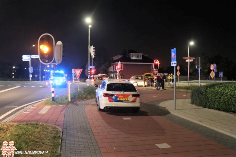 Fietsster licht gewond na ongeluk N213