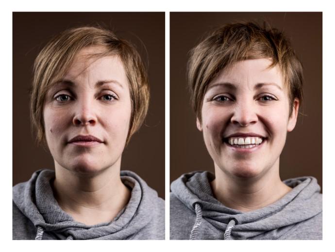 Coronakapsels: een serie portretten van voor en na de knipbeurt