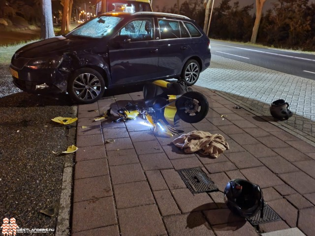 Twee gewonden bij ongeluk Galgeweg