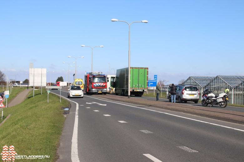 Ongeluk aan de Maasdijk (N220)