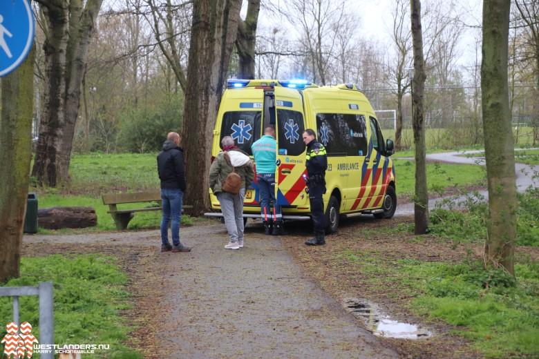 Medische noodsituatie aan de Naaldwijkseweg