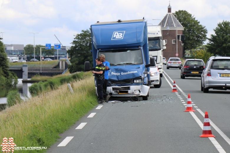 Twee ongelukken bij de Maasdijk (N220)