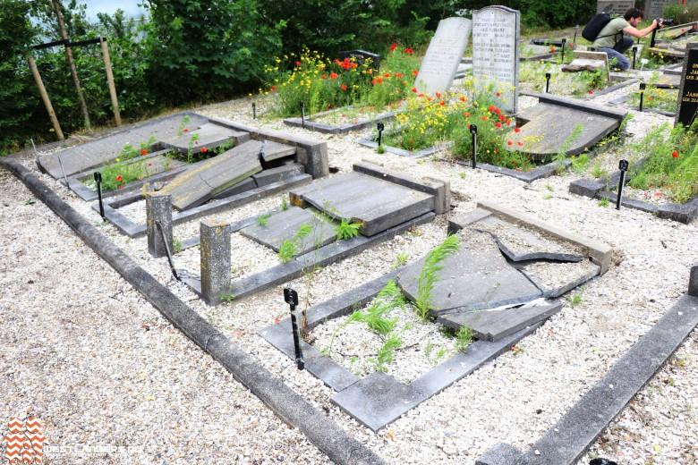 Taakstraf voor slopen graven bij Beukenhage