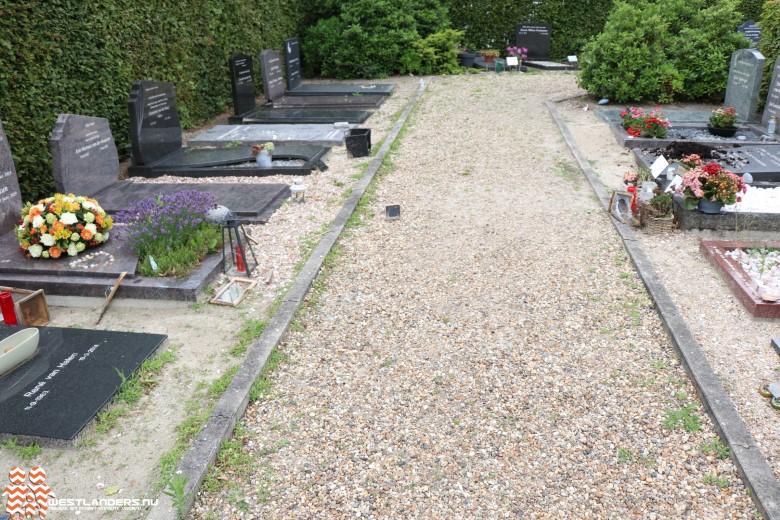 Gemeenteraad wil geldinzameling voor gedupeerden begraafplaats