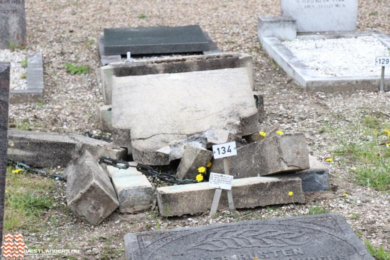 Twee arrestaties voor vernielingen graven Beukenhage