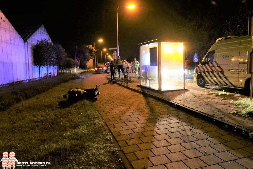 Scooterrijdster aangereden op Noordlandseweg