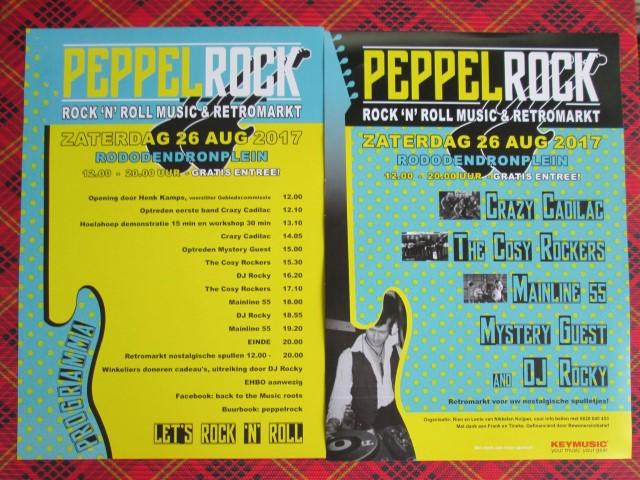 Optredens The Cosy Rockers 26 en 27 augustus