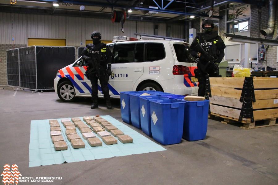 Gevangenisstraffen voor bezit van 615 kilo cocaïne