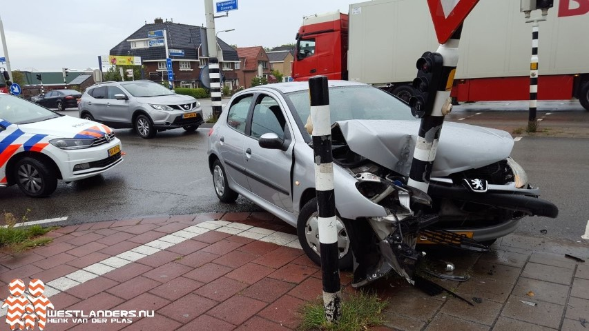 Auto total loss na schuiver op N213