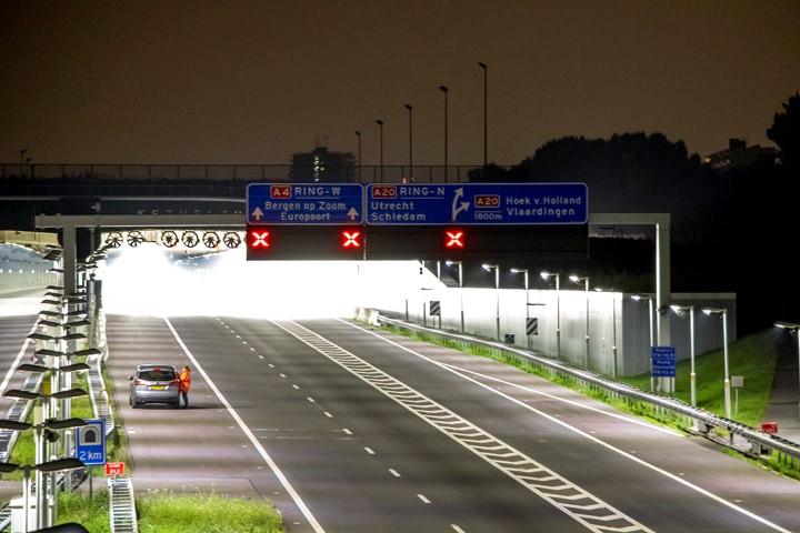 Dit weekend afsluiting Ketheltunnel A4 Delft-Schiedam