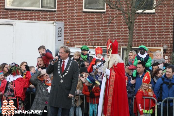 Sinterklaas intocht in Midden Delfland en Delft