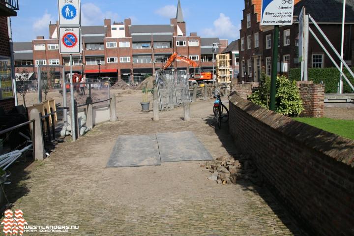 Menselijke resten gevonden in Kerkstraat Naaldwijk