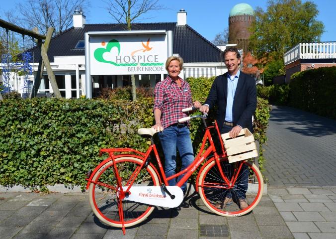 Transportfiets voor Hospice Beukenrode
