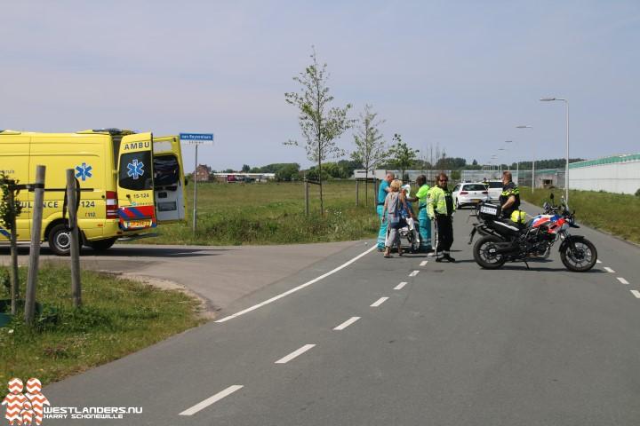 Fietser gewond na ongeluk Leeuwenhorstlaan