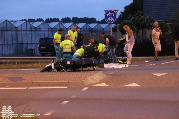 Motorrijder zwaar gewond na ongeluk Nieuweweg