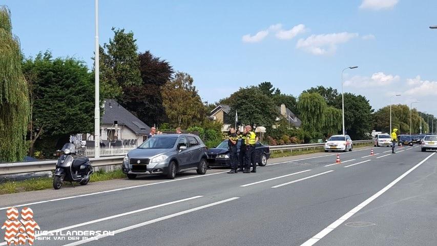 Roemeen aangehouden na ongeluk Nieuweweg
