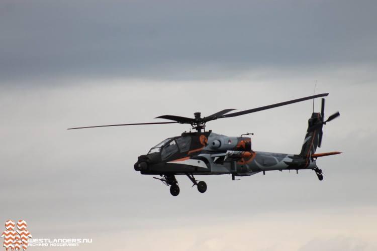 Amerikaanse helikopters vliegen naar huis
