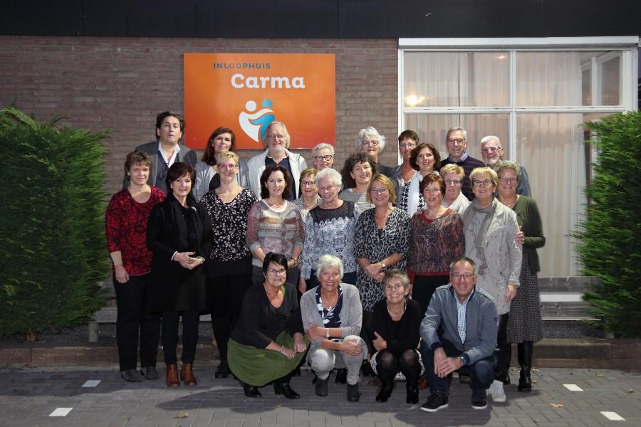 Vrijwilligers van Inloophuis Carma in het zonnetje gezet