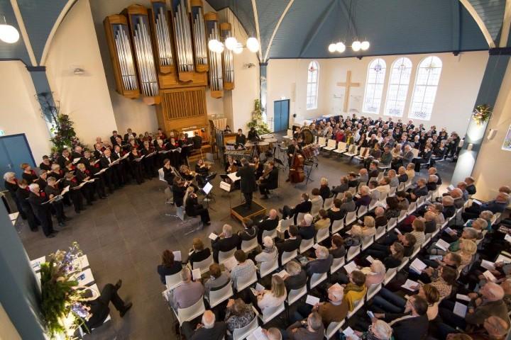 Lessons en carrols in Regenboogkerk op 23 december
