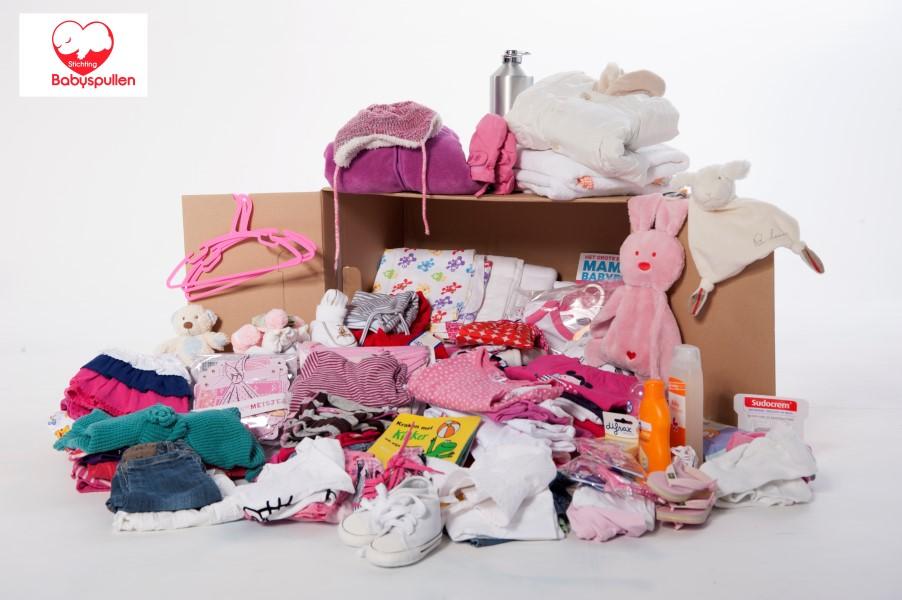 Westlandse kinderopvang in actie voor Stichting Babyspullen