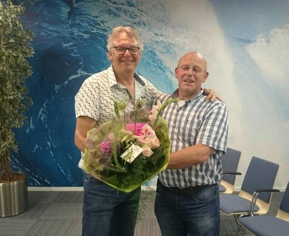 Jubilaris Piet van der Ende voor Stichting de Zaaier