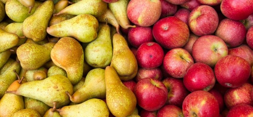 Minder appelen en meer peren dan vorig jaar