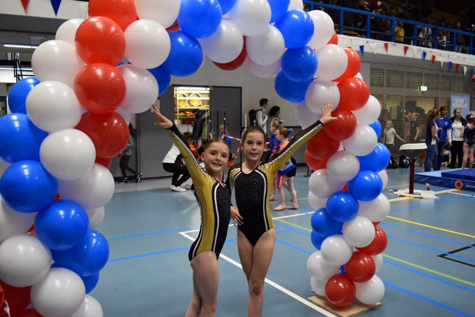 Amberly Breetveld & Yalissa de Vette ook naar NK Turnen