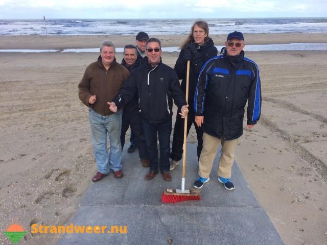 Strandvegers maken het strand toegankelijk voor iedereen