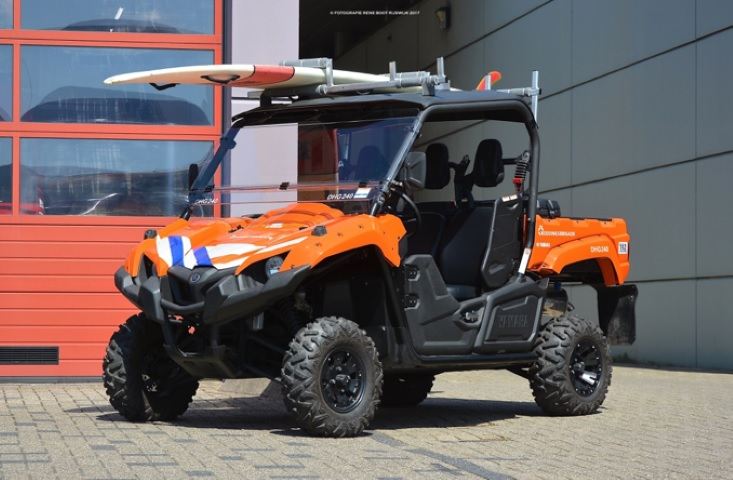 Reddingbrigade Den Haag komend weekend weer operationeel