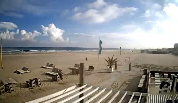 Mooi strandweer op zaterdag 20 mei