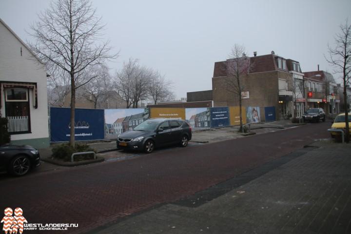 Nieuwbouw in centrum Honselersdijk laat op zich wachten