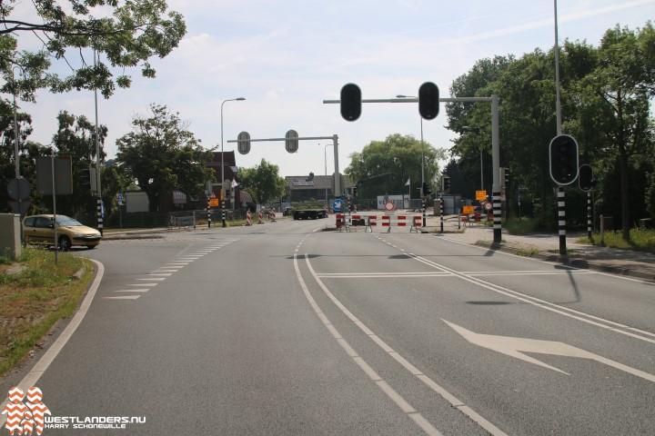 Nachtelijke afsluitingen Naaldwijkseweg