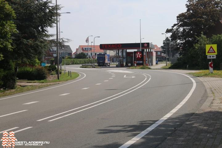 Nachtafsluiting Naaldwijkseweg vanwege asfaltwerkzaamheden