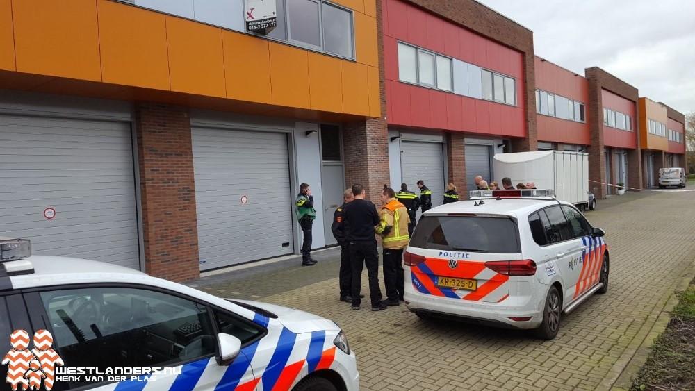 Politie doet inval bij pand Naaldwijkseweg