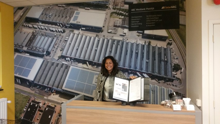 SolarNRG opent 1e Zonnepanelen winkel
