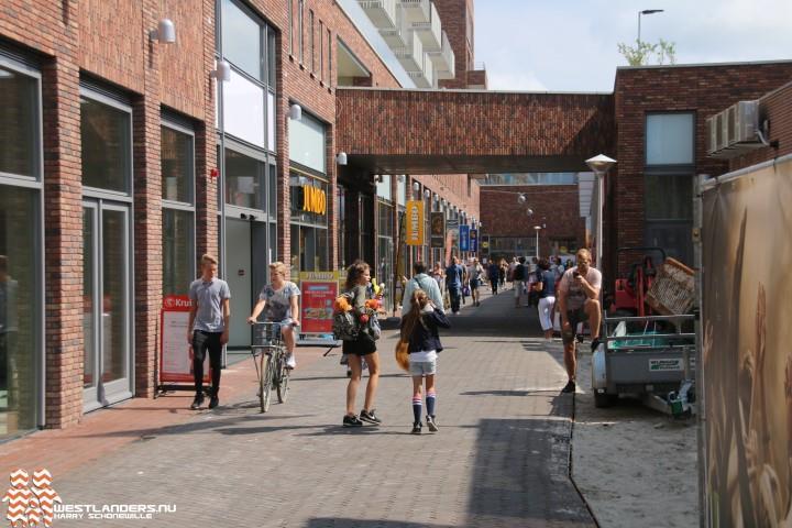 Gemeente doet onderzoek naar fluittoon winkelcentrum 's-Gravenzande
