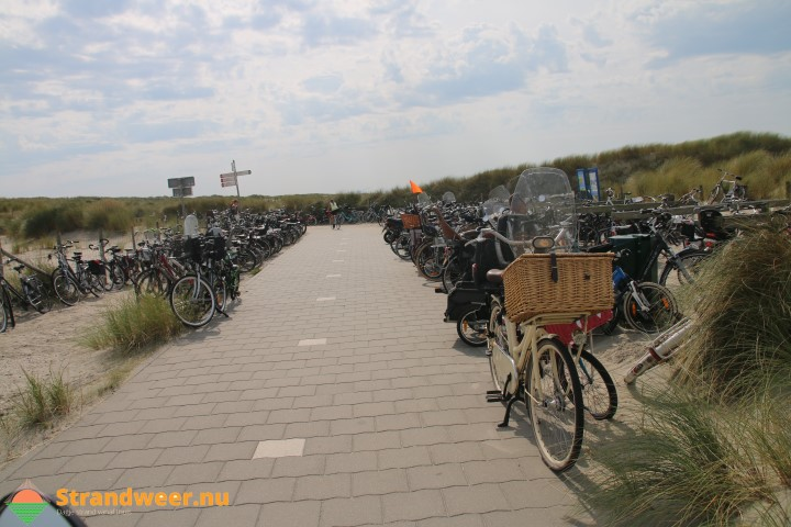 Politie betrapt fietsendief bij strandopgang