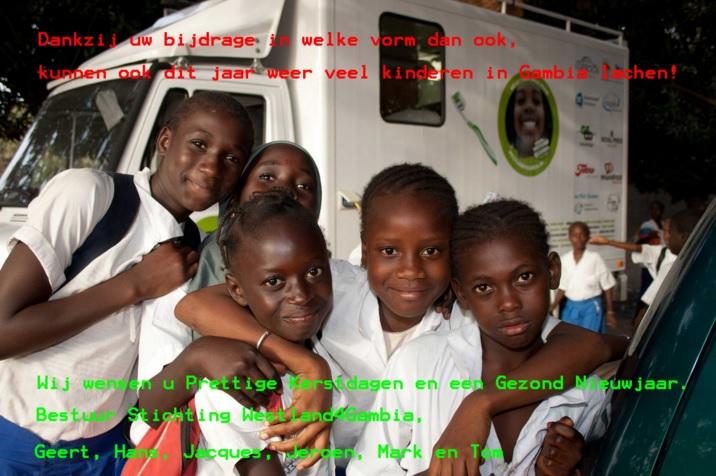 Westland4Gambia opent tandzorgpraktijk in Gambia!