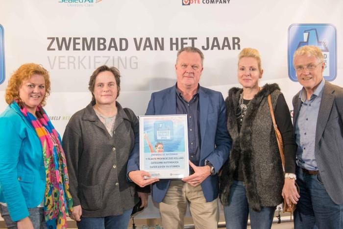 De Waterman: buitenbad van het jaar in Zuid Holland