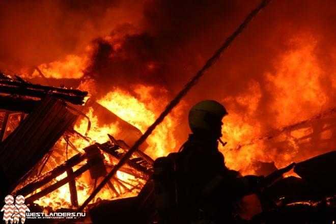 Gezondheidsrisico's bij de asbestbrand in Wateringen van januari 2015