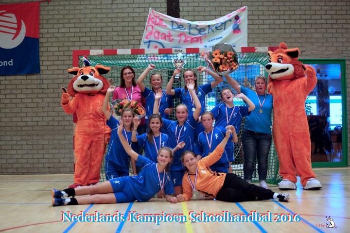 WSKO Andreashof schoolhandbalkampioen van Nederland