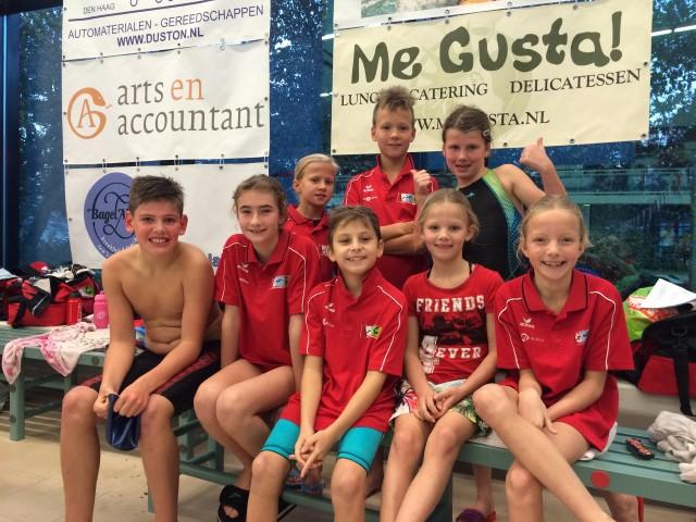 Pupillen Zwemvereniging Westland scoren goed in Wassenaar