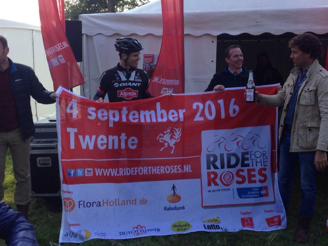 Ride for the Roses 2016 naar Twente
