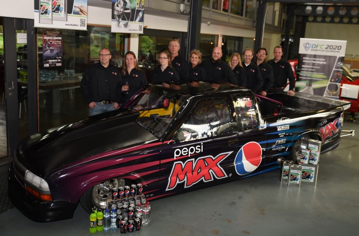 Pepsi Max stapt met Team Methness in uniek Turbo Pick Up dragrace-project