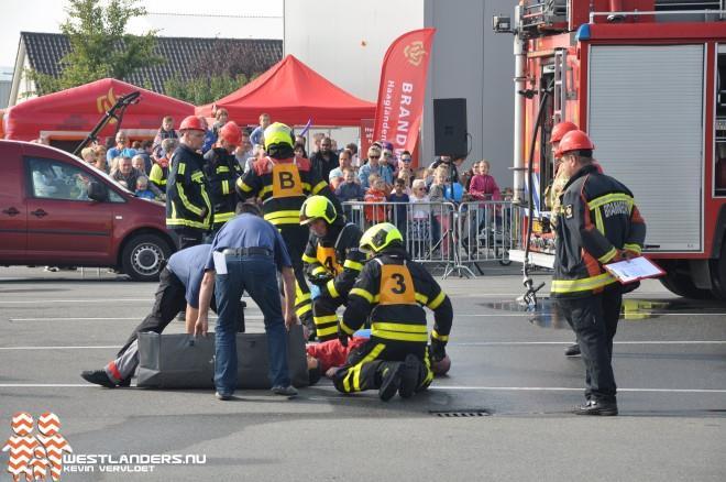 Westlandse Brandweerwedstrijden in Maasdijk