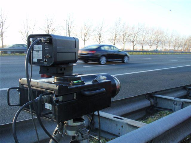 Snelheidscontroles aan de Dijkshoornseweg