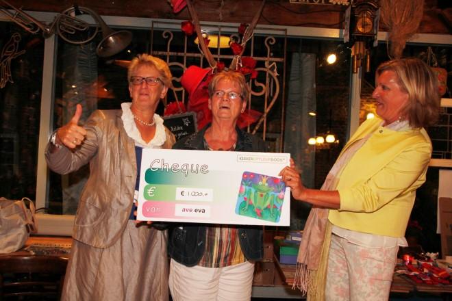 EVA ondernemers in actie voor Kikkeropfleurdoos!