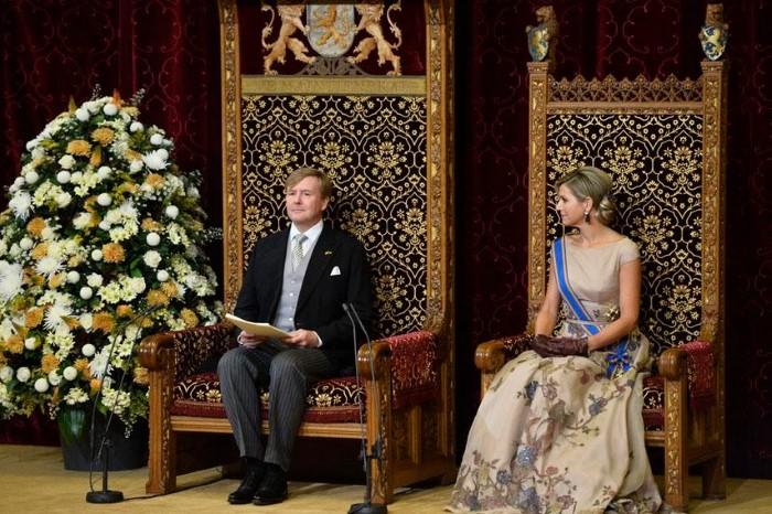 Troonrede op prinsjesdag 2015