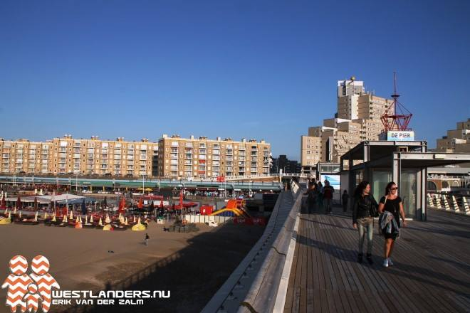 Pier in Scheveningen ten dele heropend