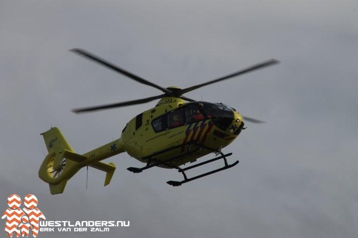 Traumahelikopter inzet voor kind in ademnood